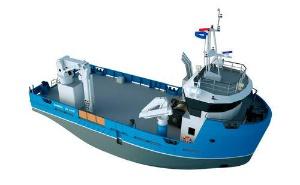 Barche di supporto e di lavoro