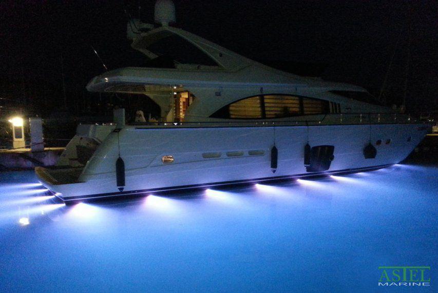 Illuminazione subacquea per yacht led per montaggio in