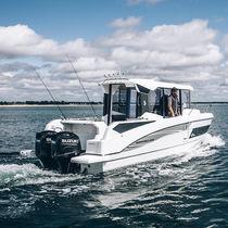 Walkaround fuoribordo / bimotore / con cabina di pilotaggio / da pesca sportiva