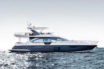 Motor-yacht da crociera / con fly / in fibra carbonio / GRP