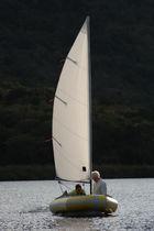 Deriva pneumatica semi-rigida / cat boat