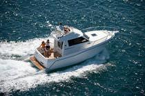 Barca da pesca-crociera entrobordo / con fly / max. 8 persone