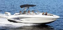 Deck boat fuoribordo / max. 12 persone / con prendisole
