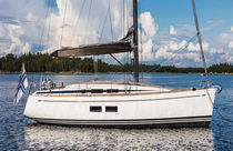 Sailing-yacht da crociera d'altura / con poppa aperta / con 3 cabine / con doppio timone a ruota