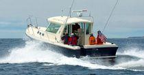 Cabinato entrobordo / con cabina di pilotaggio / da pesca sportiva
