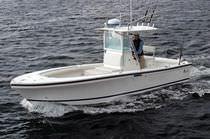 Barca open entrobordo / da pesca sportiva / con T-top