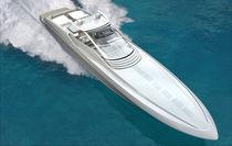 Motor-yacht rapido / open / in composito / con scafo planante