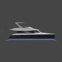 Motor-yacht catamarano / da crociera / con cabina di pilotaggio / con scafo dislocante