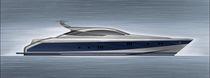 Motor-yacht sportivo / hard-top / dislocante