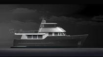 Motor-yacht per spedizione / explorer / con fly / dislocante