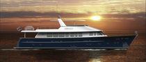 Motor-yacht con fly / con scafo dislocante