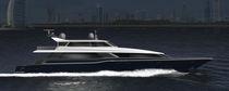 Super-yacht da pesca sportiva / con fly chiuso