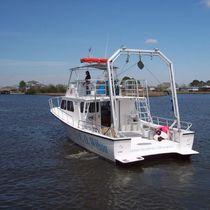 Barca per ricerca scientifica entrobordo