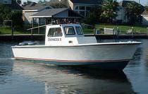 Patrol boat entrobordo