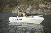 Barca open fuoribordo / da pesca sportiva / max. 5 persone