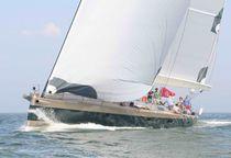 Sailing-yacht da crociera / con poppa aperta / in alluminio / a chiglia retrattile