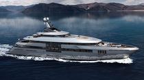 Mega-yacht da crociera / con cabina di pilotaggio / in acciaio / con eliporto