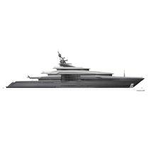 Mega-yacht da crociera / raised pilothouse / in acciaio / con eliporto