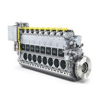 Motore per nave gas / a doppio combustibile / a nafta pesante