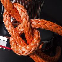 Cima drizza / a treccia piatta / per barca a vela / anima in Dyneema®