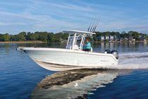 Barca open fuoribordo / da pesca sportiva / max. 12 persone / con T-top