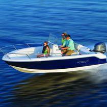 Barca open fuoribordo / da pesca sportiva / max. 6 persone