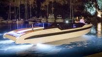 Runabout tender per super-yacht / entrobordo / bimotore / con console centrale