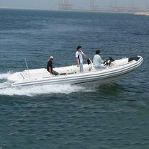 Barca da lavoro polivalente entrobordo / gommone semirigido