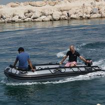 Barca militare fuoribordo / gommone pieghevole / gommone