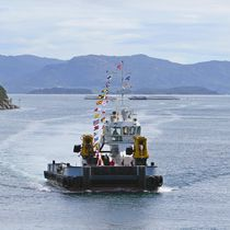 Nave polivalente rimorchiatore / buoy tender