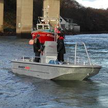 Barca utilitaria fuoribordo / in alluminio