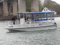 Barca turistica fuoribordo / in alluminio