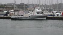 Barca per trasporto logistico entrobordo / in alluminio