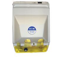 Colonnina di distribuzione elettrica / con illuminazione incorporata / per pontile / con contatore