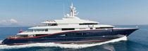 Mega-yacht da crociera / con cabina di pilotaggio / in acciaio / con 6 cabine