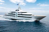 Mega-yacht da crociera / con cabina di pilotaggio / in acciaio / con 9 cabine