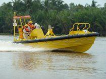 Barca di salvataggio entrobordo / entrobordo a idrogetto / in alluminio