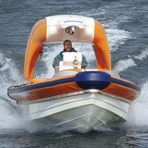 Barca di salvataggio entrobordo / fuoribordo / gommone semirigido