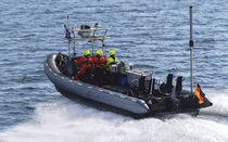 Barca militare fuoribordo / gommone