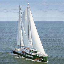 Sailing-superyacht di lusso da crociera / con cabina di pilotaggio / sloop