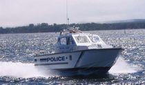 Patrol boat entrobordo / in alluminio