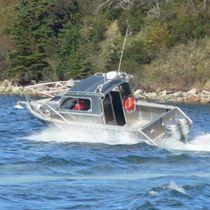 Cabin-cruiser fuoribordo / hard-top / in alluminio