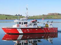 Barca per ricerca scientifica entrobordo / in alluminio