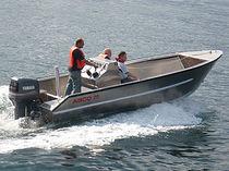 Barca da lavoro polivalente fuoribordo / in alluminio