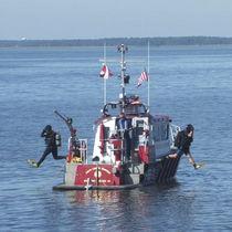 Barca antincendio entrobordo / entrobordo a idrogetto / in alluminio