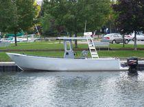 Barca da lavoro fuoribordo / in alluminio