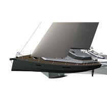 Sailing-yacht da crociera / da spedizione / con cockpit chiuso / in alluminio