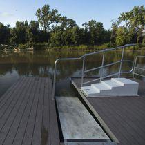 Pontile modulare / galleggiante / per ormeggio a secco / per canoa-kayak