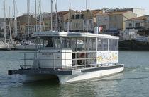 Barca turistica catamarano / entrobordo