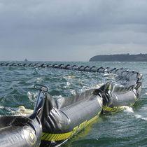 Barriera antinquinamento / gonfiabile / galleggiante / per acque calme